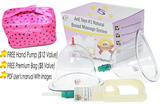 ane toys manual breast enhancement pump