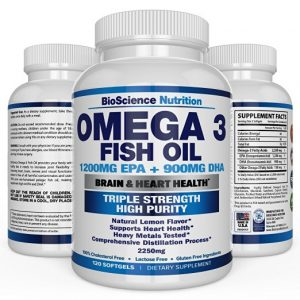 Fish Oil Omega 3 Supplements for Buttocks