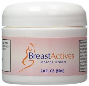 breast actives cream to increase bust size