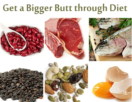 Foods for Bigger Booty