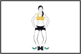 Buttock Pinches Exercise