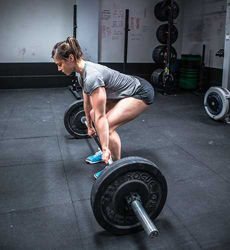 Open workout with Julie Foucher