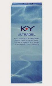 KY Ultragel Lubricant for Painless Insertion